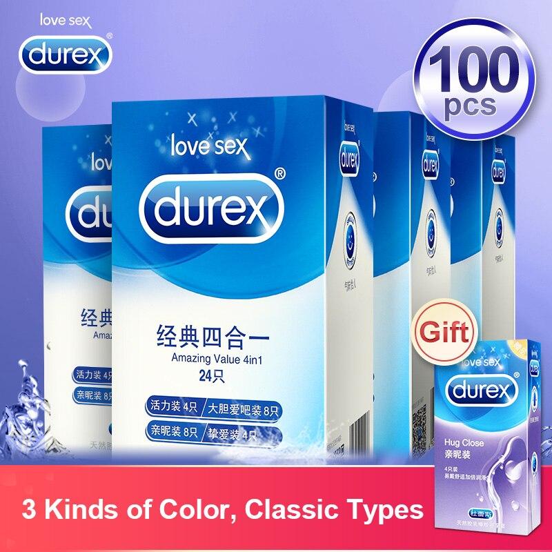 Durex preservativos de borracha de látex natural preservativo pênis manga produtos sexuais íntimos ultra fino brinquedos sexuais para homem masculino