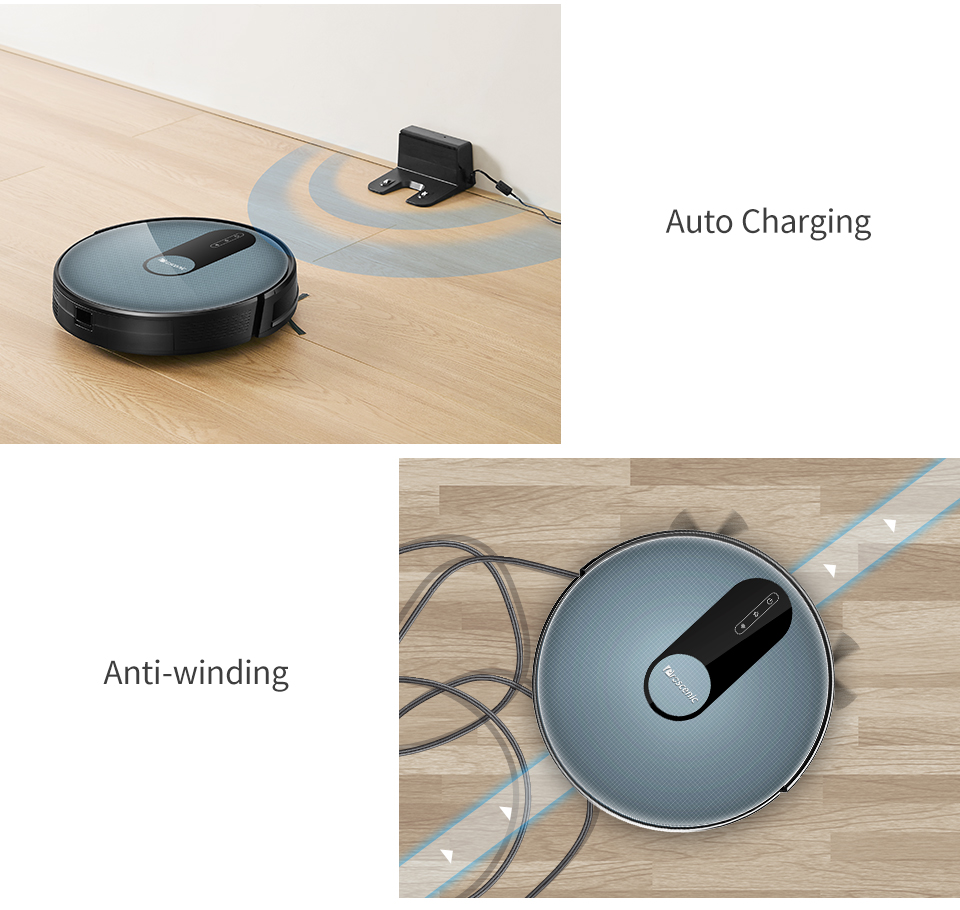H9f82ddecb3ca4ef5b1f870e373d0b7f0b Proscenic 820P Robot Vacuum Cleaner Smart Planned 1800Pa Suction with wet cleaning for Home Carpet Cleaner Washing Smart Robot
