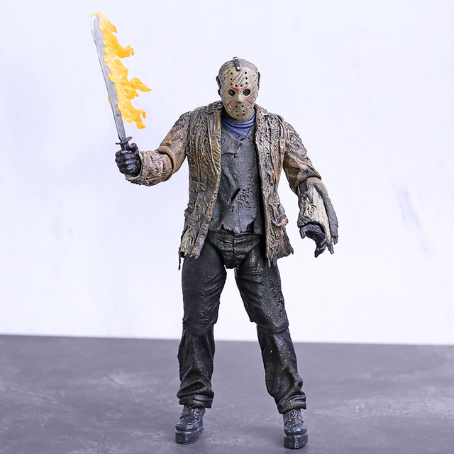NECA Freddy vs. Jason Jason Voorhees PVC Action Figure Sammeln Modell Spielzeug 18cm