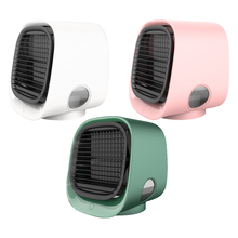 Fan Air-Conditioner Multifunction Mini with Night-Light Purifier Desktop Summer