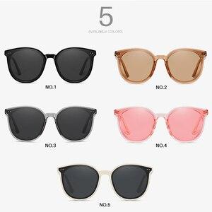 Image 5 - AEVOGUE New Polarized Sunglasses Women Popupar Transparent Round Retro Fashion Sun Glasses Vintage Oculos Unisex UV400 AE0845
