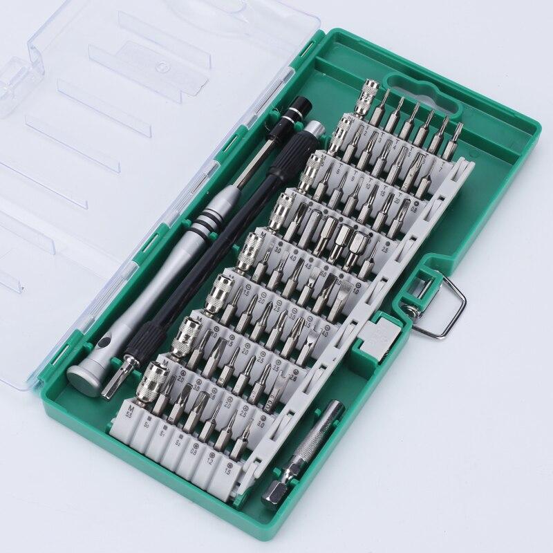 61 in 1 Multi functional Dismountable Precision Screwdriver Bit Set