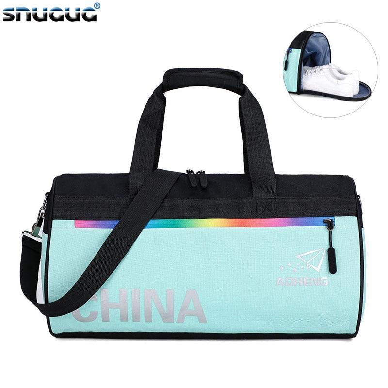 Sports Bag Oxford Duffle Bag Women Luggage Travel Bags New Waterproof Women Training Bag Multifunction Fitness Bags For Men