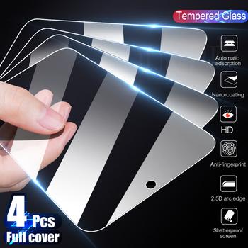4 sztuk pełna pokrywa szkło hartowane dla Xiaomi Redmi uwaga 8 9 7 8T 9S 10 Pro Max Screen Protector dla Redmi 8A 8 7A 9 9A K20 K30 Pro tanie i dobre opinie OU PE TEMPERED GLASS CN (pochodzenie) Folia na przód For Redmi 7 For Redmi 7A For Redmi Note 7 For Redmi Note 7 Pro For Redmi 8