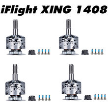 1/2/4 PCS iFlight XING 1408 3600KV 4100KV 2-4S Brushless Motor for RC FPV Drone Racing Quadcopter Accessories DIY Spare Parts