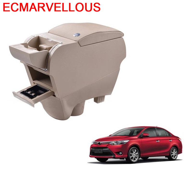 Car-styling Arm Rest Mouldings Parts Decorative Styling Car Armrest Box 04 05 06 07 08 09 10 11 12 13 FOR Toyota Corolla Ex