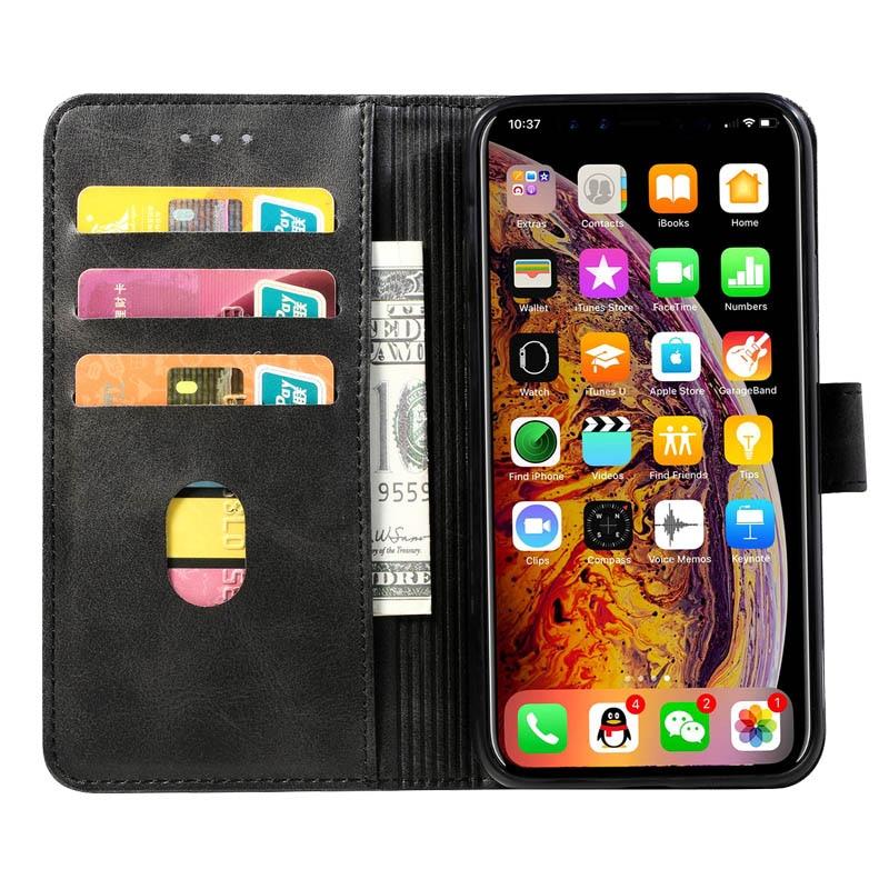 Retro Lederen Flip Case Voor Huawei Y538 Case Wallet Stand Cover Voor Huawei Ascend Y560 Fundas Business Coque Voor Huawei p8 Lite - 5