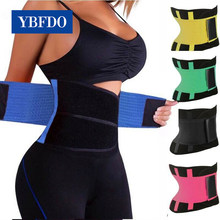 Ybfdo mulheres shaper unisex cintura cincher trimmer barriga emagrecimento cinto corpo shapers cintura trainer mulher pós-parto espartilho shaper