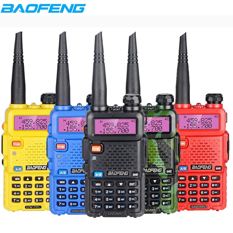 Baofeng UV-5R Walkie Talkie UV5R Professional CB Radio 5W 128CH Dual Band Transceiver VHF UHF Two Way Radio For Hunting Radio