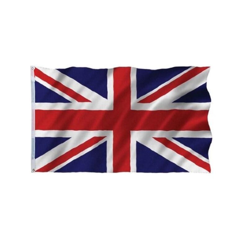 Bandera Inglesa Negra 150 cm x 90 cm