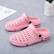 2020 Summer Ladies Beach Pink Clogs Women Sandals Crocse Shoes Croc EVA Lightwei