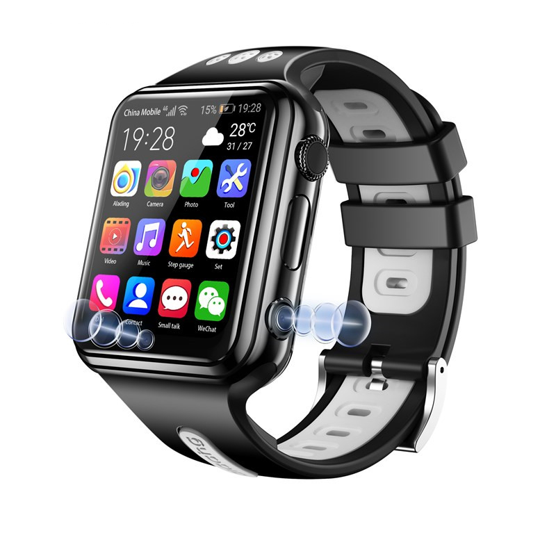 <font><b>W5</b></font> Kids 4G <font><b>Smart</b></font> <font><b>Watch</b></font> 2MP Camera HD Video SIM Card Voice Call SOS GPS WIFI Big Battery Baby Tacki for Android IOS Boys Girls image