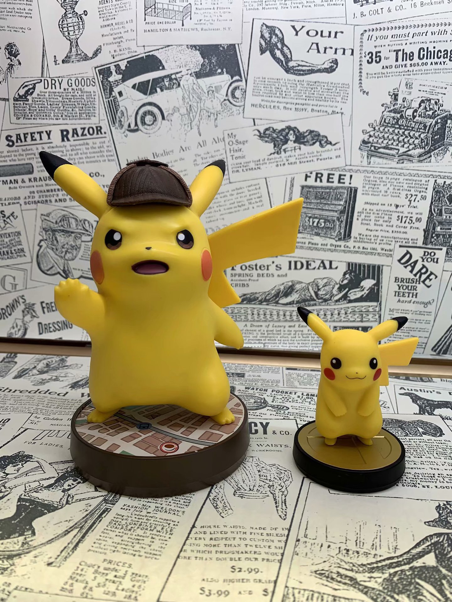 Pokemon Detective Pikachu 2 Pet Elf Boxed Garage Kit Model Diffuse