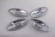 For SUBARU Outback 2015 8PCS ABS Chrome Car Door Wrist cover  Trim Styling Accessories