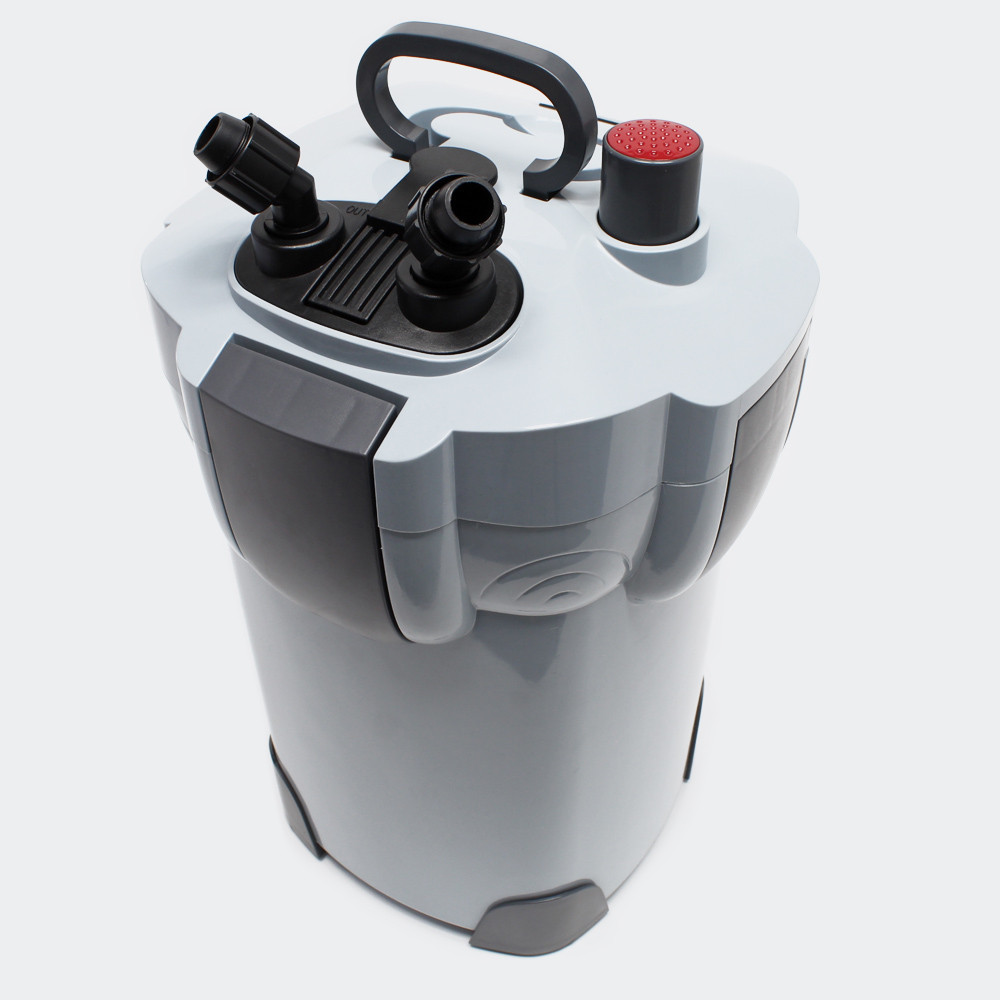 1400L/h SUNSUN HW-403B 4-Stage Aquarium External Canister Filter with 9W UV Sterilizer for Koi Pond Aqua Fish Tank Up to 350L