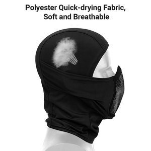 Image 4 - Tactical Full Face Steel Mesh Mask Balaclava Hunting Airsoft Paintball Mask CS Game Hunting Cycling Protective Helmet Liner Cap