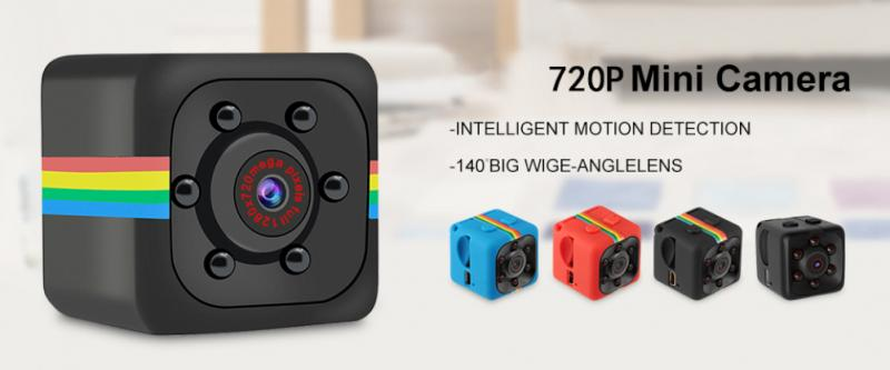 Mini Camera With Night Vision and Motion Sensor