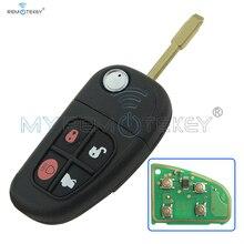 434mhz xj xk s x fo21 remote key 4button 1x43 15k601 ae fcc nhvwb1u241 for jaguar Flip remote key  FO21  4button for Jaguar 1X43-15K601-AE