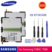 SAMSUNG 원래 태블릿 배터리 EB BT585ABE 7300mAh 삼성 갤럭시 타블렛 탭 A 10.1 2016 T580 SM T585C T585 T580N 배터리