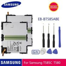 SAMSUNG orijinal Tablet pil EB BT585ABE 7300mAh Samsung Galaxy Tablet için Tab A 10.1 2016 T580 SM T585C T585 T580N piller