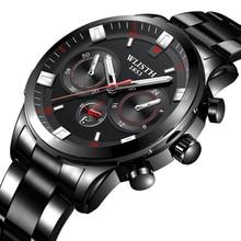 WLISTH Watch Men Military Sport Mens watches Top Brand Luxury Waterproof Casual Male Quartz Clock stainless erkek kol saati