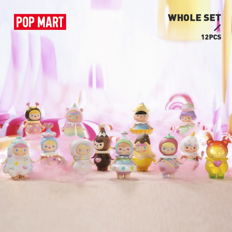 POP MART Pucky Sweet Babies for Whole Box Collection Doll Collectible Cute Action Kawaii Figure Gift Kid Toy Free Shipping