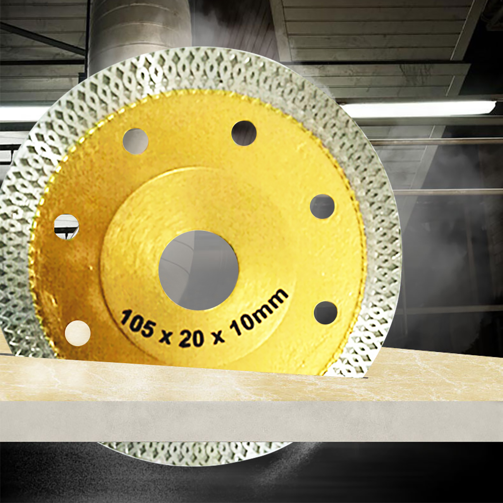 Golden Diamond Saw Blade Microlite Vitrified Tile Ceramic Floor Tile Cutting Slim Angle Grinder Blade Marble Slab 105/115/125mm