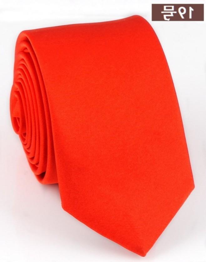 2019 Fashion Casual Slim Black Tie For Men 5cm Narrow Arrow Skinny Red Necktie Man Accessories Simplicity For Party Formal Ties