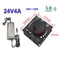 50 Вт + 50 Вт Bluetooth 5,0 динамик цифровой аудио усилитель мощности класса D 30 Вт ~ 200 Вт HiFi стерео мини USB музыкальная звуковая карта усилитель прило...