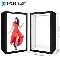 PULUZ Professional Photography Light Box 200cm/78.7inch Photo Studio Box Portrait Shooting Tent Kit with 6 LED Light Panels