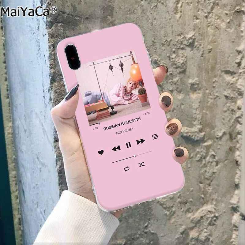 Maiyaca Pink Pemain Estetika DIY Cetak Gambar Ponsel Case Shell untuk Apple iPhone 11 Pro 8 7 66S PLUS X XS Max 5S SE XR