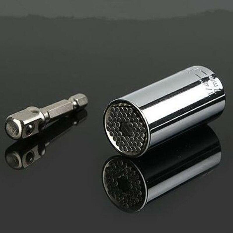 Universal Torque Wrench 7-19mm Socket Head Multifunctional Universal Sleeve