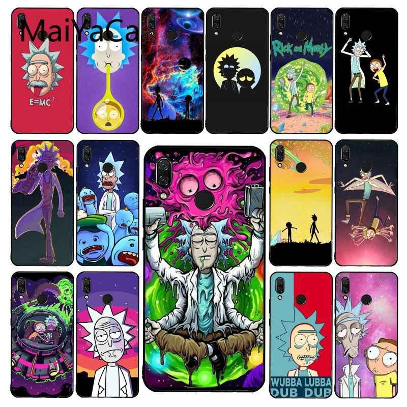 Maiyaca Hoạt Hình Dưa Rick Rick Và Morty Ốp Lưng Điện Thoại Xiaomi Redmi4X 6A S2 Đi Redmi 5 5Plus Note4 note5 7 Note6Pro
