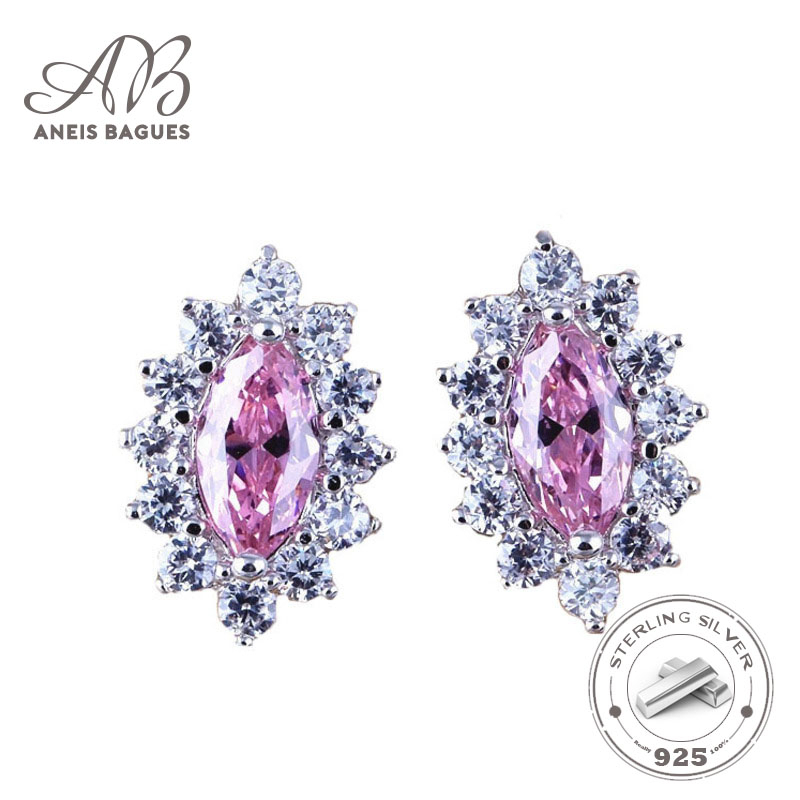 Aneis Bagues New Arrival 925 Sterling Silver Hollowing Out Star Stud Earrings For Women Clear CZ Silver Earrings Jewelry Brincos