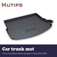 Mutips Car Cargo rear trunk mat For Land Rover Discovery Sport 5 Seats 2015 2016 2017 2018 2019 Anti slip carpet Accessories pad
