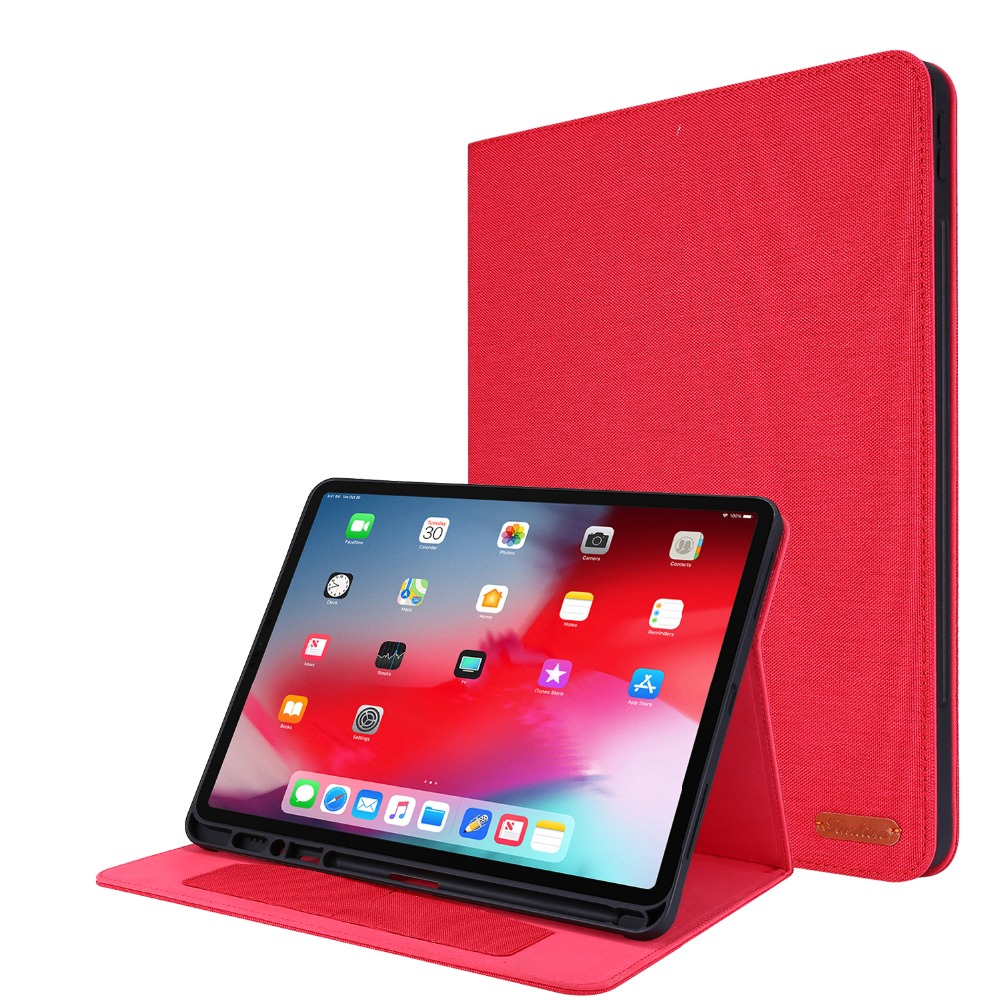 Case Gen For 12.9 Coque With 4th Pro Pro For inch 2020 Holder iPad iPad Pencil Tablet