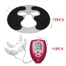 Beauty-Electrode-Pads Face-Tens-Machine Full-Body-Massager Pulse-Therapy Facial