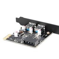 Super Speed 2 Port USB 3.0 PCI e Controller Expansion Card PCI Desktop Computer New for Windows 64 / xp/vista / 7  32 bit|Computer Cases & Towers|   -