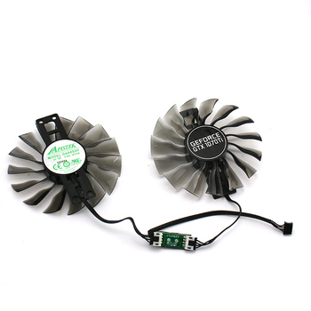 New Original for PALIT MAXSUN GEFORCE GTX1070Ti GAA8S2U GAA8S2H DC12V 0.35A Graphics Video Card cooling fan image