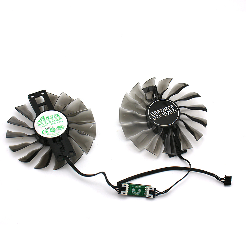 New Original for PALIT MAXSUN <font><b>GEFORCE</b></font> <font><b>GTX1070Ti</b></font> GAA8S2U GAA8S2H DC12V 0.35A Graphics Video Card cooling fan image