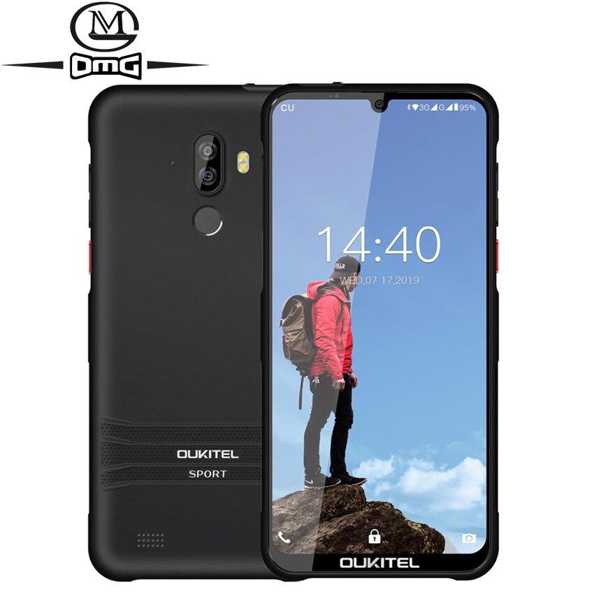 "OUKITEL Y1000 Android 9.0 Mobile Phone 6.08"" MT6580P 2G RAM 32G ROM 3600mAh Fingerprint 3G Smartphone Unlock Dual sim cellphone"