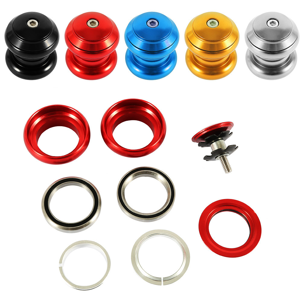 New 34mm MTB Bicycle Headset Sealed Cartridge Bearings External Wrist Group Bicycle Parts Cycling Mountain Bicycle Washer