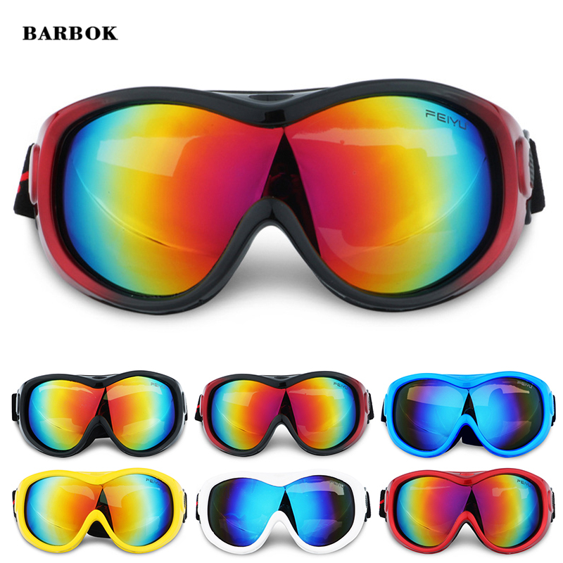 Dustproof Snowboard Goggles Skiing Hiking Fishing Snowboarding Winter Sport Glasses Anti-fog UV Protection