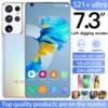 Global Version S21+ Ultra 7.3 Inch Smart Phone Android 10.0 16GB RAM 512GB ROM Dual Sim Unlocked Mobile Phone MTK 6799 Deca Core