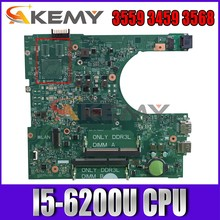Akemy brandnew 14236-1 para dell inspiron 3559 3459 3568 placa-mãe pwb cpww0 CN-030J5G 30j5g mainboard 100% testado