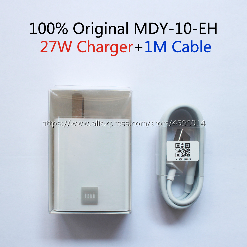 Image 3 - MDY 10 EH For Xiaomi Mi9 Charger Original 27W QC4.0 High Speed Charger EU Adapter For Xiaomi Mi9T CC9 Redmi K20 Pro Note 8 Pro-in Mobile Phone Chargers from Cellphones & Telecommunications
