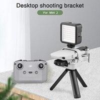 Impugnatura a mano treppiede giunto cardanico palmare per DJI Mavic Mini/Mini 2 PTZ stabilizzatore supporto per fotocamera treppiede Drone videocamera accessori Video