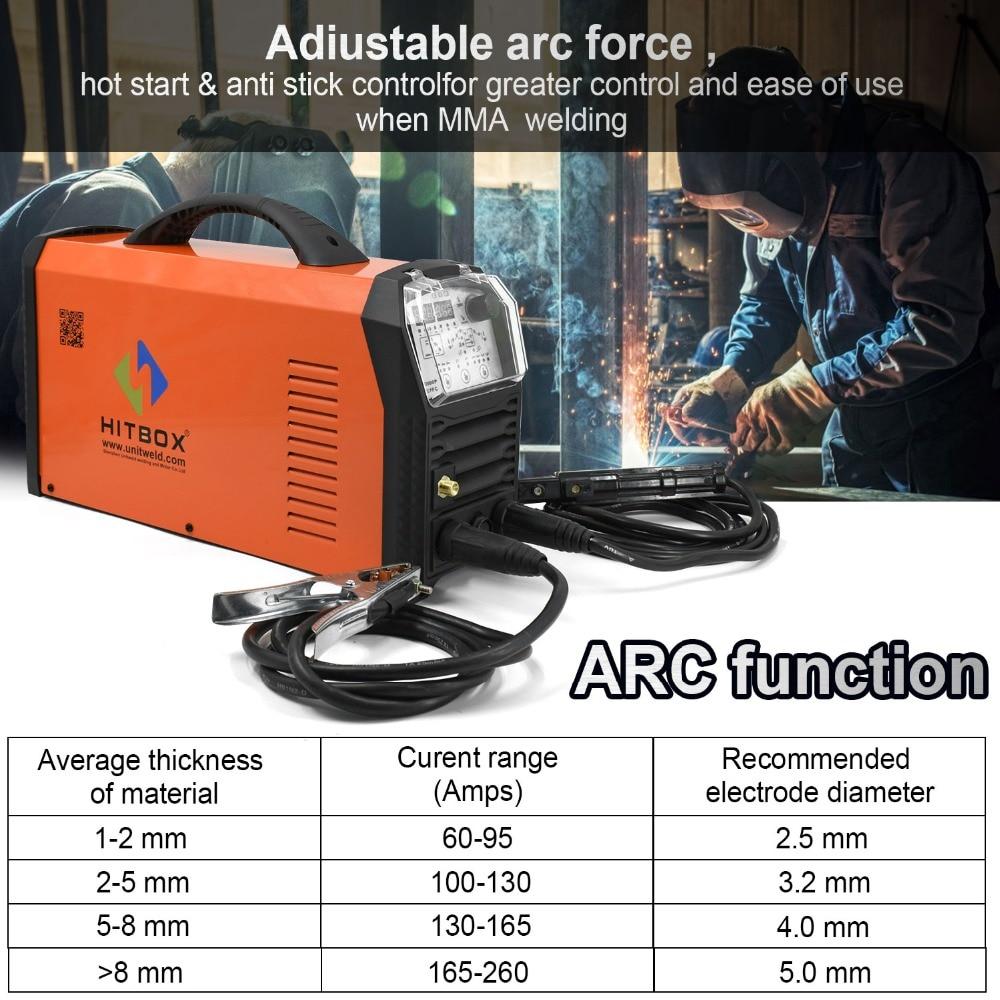 ARC焊接建议