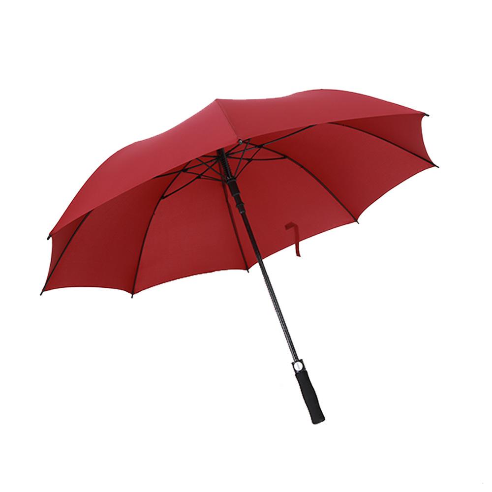 Creative Straight Pole Golf Gift Umbrella Customizable Advertising Umbrella Printed Logo High-End Men Long Handle Umbrella