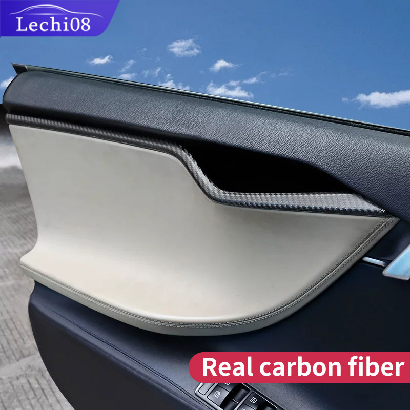 Door Trim For Car Tesla Model S Accessories   Tesla 2018 Model S    Tesla Car Accessories Tesla Model S Carbon Fiber Interior